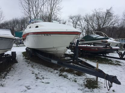Picture of 1995 27' Imperial boat with twin 7.4 L mercruiser motors